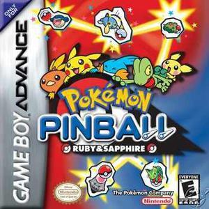Pokemon Pin Ball Game Boy Advance