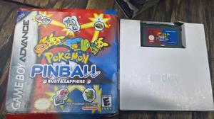 Pokemon Pinball Game Boy Advance