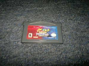 Pokemon Pinball Para Game Boy Advance,excelente Titulo.