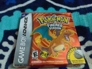 Pokemon Red Version Para Game Boy Advance Con Caja Original