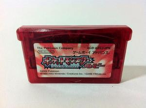 Pokemon Ruby Version Pocketmonsters Rubi Gameboy Advance Gba
