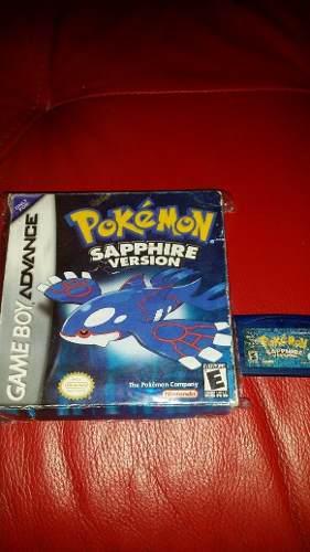 Pokemon Sapphire Zafiro Gba Gameboy Advance