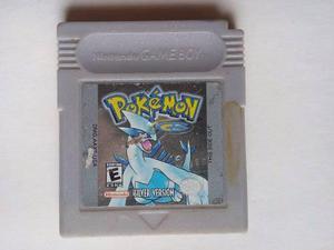 Pokemon Silver Game Boy Color Nintendo Trqs Plata