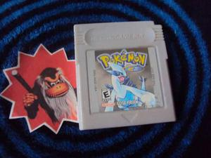 Pokemon Silver Gbc Original Y Guarda Partidas
