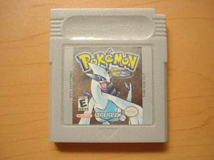 Pokemon Silver Para Game Boy Color - Rtg +++++