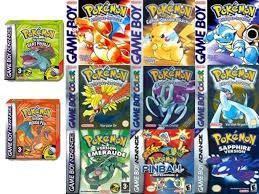 Pokemon Super Pack De Juegos Game Boy, Color Y Advance