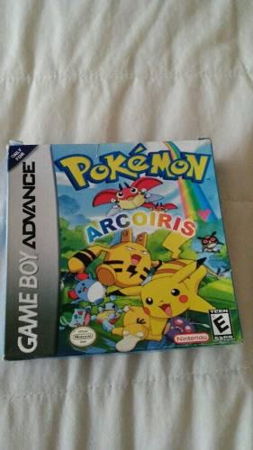 Pokemon Version Arcoiris Gameboy Advance Gba Nintendo Repro