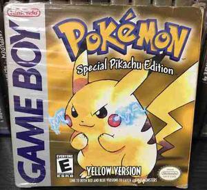 Pokemon Yellow Version Special Pikachu Edition - Game Boy