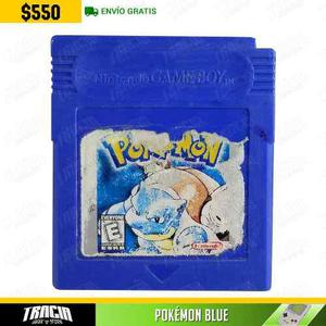 Pokémon Blue] Azul Blastoise Nintendo Game Boy | Tracia