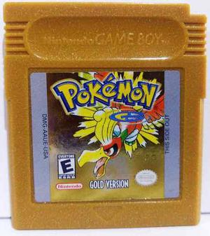 Pokémon Gold Version Game Boy Color Cartucho Retromex Tcvg