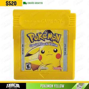 Pokémon Yellow] Amarillo Pikachu Game Boy   Tracia