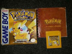 Pokémon Yellow Caja Y Manual Gameboy Color Advance Jpcv