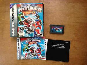 Power Rangers Spd Completo Para Game Boy Advance / Gba