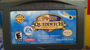 Quidditch, World Cup, Gameboy Advance