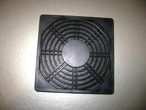 Rejilla Para Ventilador 120x120mm De Plástico Con Filtro