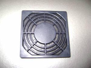 Rejilla Para Ventilador 80x80mm De Plástico Con Filtro