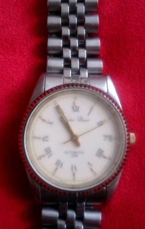 Reloj Antiguo Suizo André Piasso Automatico Acero