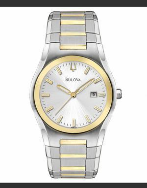 Reloj Bulova 98B125 Plata con Dorado
