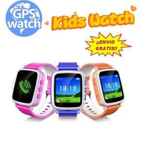 Reloj Celular Gps Niños Q80 Smart Watch Localizador