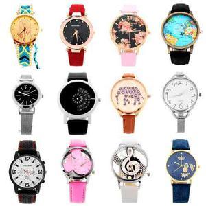 Reloj Relojes Moda Hombre Mujer Niños Casual Mayoreo Piezas