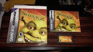 Shrek 2 Con Caja E Instructivo De Game Boy Advance.