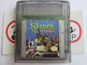 Shrek Fairy Tail Breakdown Para Gameboy Color Gbc Original