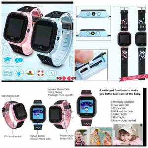 Smart Watch Reloj Localizador Gps Camara Touch Video Niños