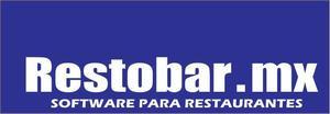 Software para Restaurantes RESTOBAR.MX también para Bares,