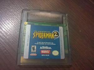 Spider Man 2 Game Boy Color