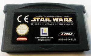 Star Wars Episode Ii Game Boy Advance Gba Retromex Tcvg