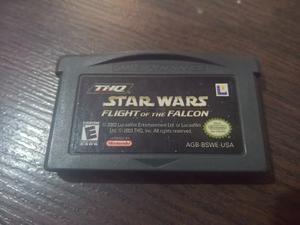 Star Wars Flight Of The Falcon Game Boy Advance