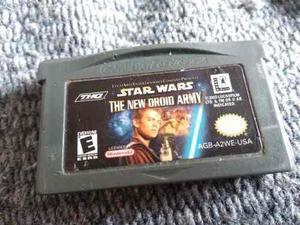 Star Wars The New Droid Army Game Boy Advance Nintendo