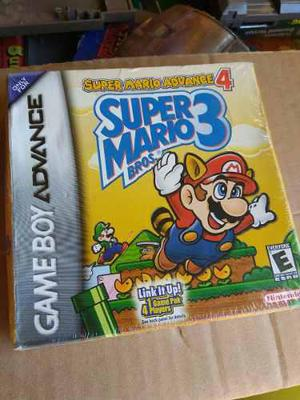 Super Mario Advance 4 Game Boy Nintendo Super Mario Bros 3