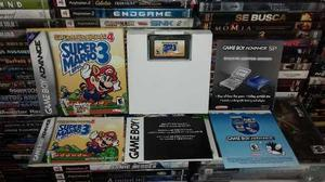 Super Mario Advance 4,super Mario Bros 3,funcionando.