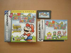 Super Mario Advance Game Boy Advance Completo Rtg +++++