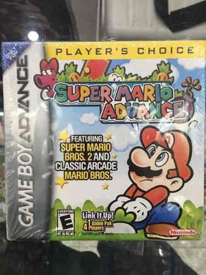 Super Mario Advance Gameboy Advance Gba Nuevo