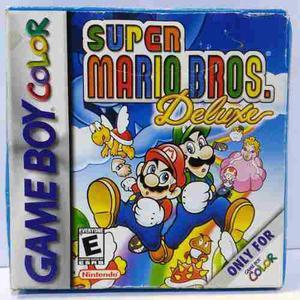 Super Mario Deluxe Nintendo Game Boy Color Gbc Retromex Tcvg