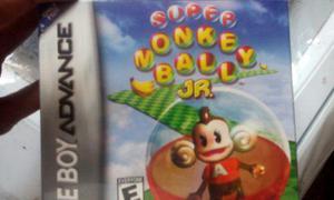 Super Monkey Ball Jr. Sellado Nintendo Gameboy Advanced