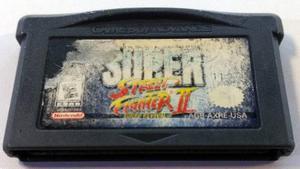 Super Street Fighter Ii Game Boy Advance Gba Retromex Tcvg