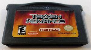 Tekken Advance Game Boy Advance Gba Cartucho Retromex Tcvg