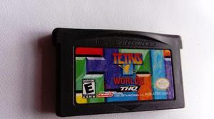 Tetris Worlds Game Boy Advance Nintendo Gba