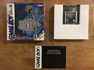 The Legend Of Zelda Oracle Of Ages Con Caja Gameboy Color