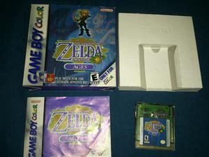 The Legend Of Zelda Oracle Of Ages Game Boy Color Completo