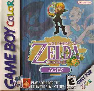 The Legend Of Zelda Oracle Of Ages Seminuevo