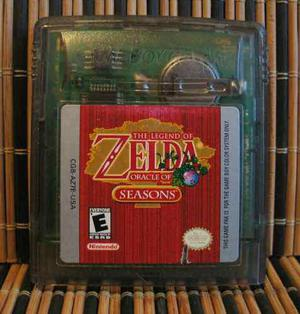 The Legend Of Zelda: Oracle Of Seasons - Gbc Aventura