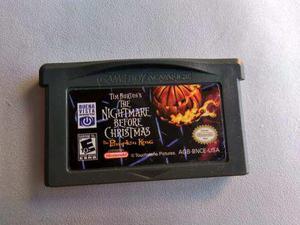The Nightmare Before Christmas Game Boy Advance Nintendo Gba