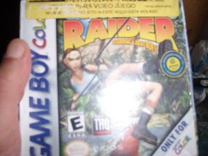 Tomb Raider Sellado De Fábrica Para Gameboy Color