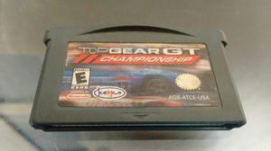 Top Gear Gt Championship Para Nintendo Game Boy Advance