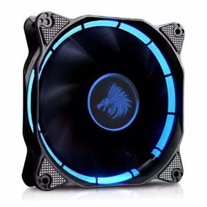 Ventilador Eagle Warrior 120mm Halo Led Azul Rojo Verde Ama