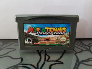 Video Juego Mario Tennis Power Tour Para Game Boy Advance
